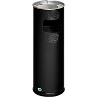 Cendrier/collecteur combinés, H 660 mm, vieil argent