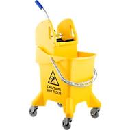 Chariot de ménage, 37 litres, parfait pour les petits espaces