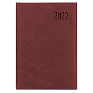 Chefkalender Sidney, 416 Seiten, B 150 x H 210 mm, ohne Metallecken, dunkelrot