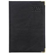 Chefkalender Sidney, ohne Einzelverpackung, 416 Seiten, B 150 x H 210 mm, Werbedruck 100 x 80 mm, anthrazit, Auswahl Werbeanbringung optional