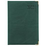 Chefkalender Sidney, ohne Einzelverpackung, 416 Seiten, B 150 x H 210 mm, Werbedruck 100 x 80 mm, grün