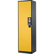 Chemicaliënkast, vleugeldeur, 3 legborden, 545x520x1950 mm, veiligheid: