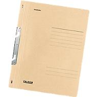 Chemise à suspendre Falken avec renfort métallique, pour format A4, couverture entière, chamois