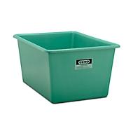 CHEMO rechthoekige standaard bak, groen, 1100 l