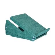 Circular-Line Laptopständer Bakker Elkhuizen Ergo-Top 320, 60% recyceltes Material, B 215 x H 140 x T 350, grün