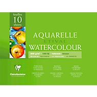 Clairefontaine Aquarellblock ETIVAL, rau, 10 Blatt, 300 x 400 mm