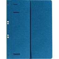 Classeur à œillets Falken, pour format A4, avec demi-couverture, bleu