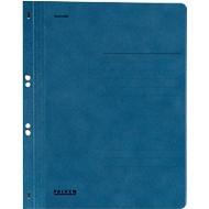 Classeur à œillets Falken, pour format A4, couverture entière, bleu