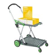 CLAX® inklapbare trolley, incl. vouwkrat + 2500 vellen kopieerpapier GRATIS