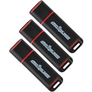 Clé USB QLIK 8 Go, lot de 3
