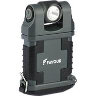 Clip-lamp GP T2342 EDCLIP, LED, 160 lm, tot 70 m, tot 45 h, armatuurkop 180° draaibaar, magnetische clip 360° draaibaar