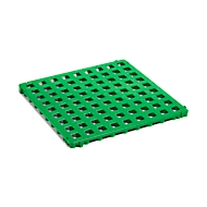 Clippy kunststof vloerrooster, groen