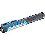COB SMT Arbeitsleuchte VARTA Work Flex Pocket Light, 110 lm, 2 Leuchtmodi, magnetischer Hakenclip, IPX 4, schwarz