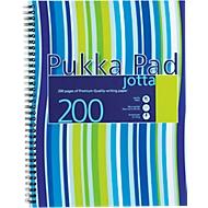 Collegeblock Jotta Streifen, Format DIN A4, liniert, 3 Stück