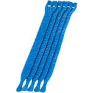 Collier scratch à câbles, bleu, 10 pièces
