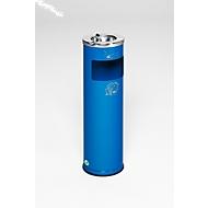 Combi-asbak D20, blauw