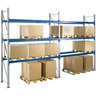 Compl. aanbieding basissectie PR 350, dwarssteun, 1800x2500x850 mm