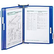Compl. aanbieding wandhouder + 10 panelen, blauw