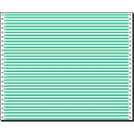 Computer Endlospapier, 1-fach grün liniert, 2000 Stück