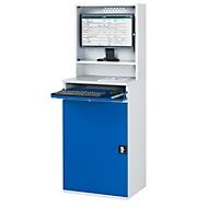 Computer-Schrank Typ 650-M65, B 650 x T 520 x H 1770 mm, stationär
