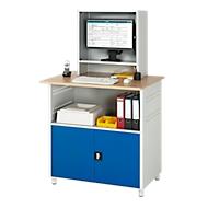 Computerstation type 6018, B 1100 x D 800 x H 1810 mm, stationair
