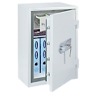 COMSAFE Wertschutzschrank, Atlas EN 1 Premium, feuersicher, weiß, Elektronikschloss