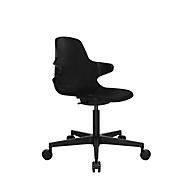 Conferentiestoel Topstar Sitness Life 20, met armleuningen, 3D-zitscharnier, in hoogte verstelbaar, zwart