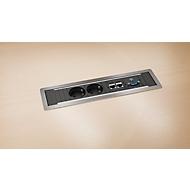 Contactdoos Power Frame om in te bouwen in tafelbladen