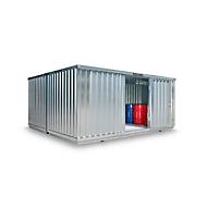 Containercombinatie SAFE TANK 4000, voor passieve opslag