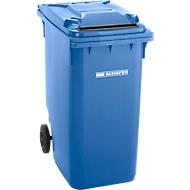 Conteneur mobile, 360 litres, GMT 3600 avec fente, bleu