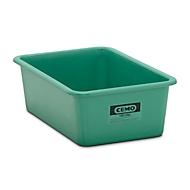 Conteneur standard CEMO en PRV, vert, 100 l