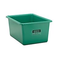 Conteneur standard CEMO en PRV, vert, 550 l