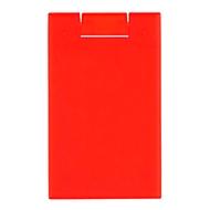 Cool Card, Rot, Standard, Auswahl Werbeanbringung optional