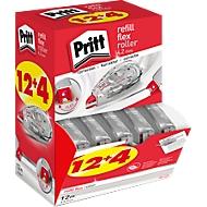 Correctierollers Pritt Refill Flex, met navuller, L 12 m x B 4,2 mm, multipack van 16