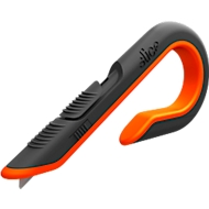 Cutter à carton Slice, longueur 4,1cm, retrait automatique, orange
