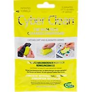 Cyber Clean® Reinigungsmasse Das Original, entfernt Schmutz, Keime & Bakterien auf strukturierten Oberflächen & in Zwischenräumen, wiederverwendbar, biologisch abbaubar, gelb, 80 g im Zip Bag Beutel