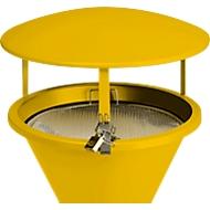 Dach für Standascher, gelb