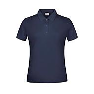 Damen-Poloshirt, Marine, S