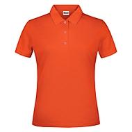 Damen-Poloshirt, Orange, XL, Auswahl Werbeanbringung optional