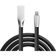 Daten-/Ladekabel Felixx, Micro-USB, PU Flachband, L 3 m