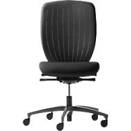 Dauphin Bürostuhl Kick-off Style 5827, schwarz/schwarz