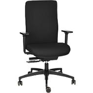 DAUPHIN SHAPE ECONOMY 2 COMFORT bureaustoel, met armleuningen, zwart