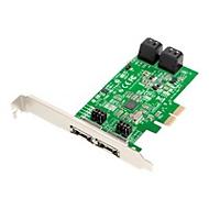 Dawicontrol DC 624e RAID - Speichercontroller (RAID) - SATA 6Gb/s - PCIe 2.0 x2