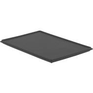 Deckel EF D 64 für Kasten im EURO-Maß, ESD-leitfähig, 600 x 400 mm