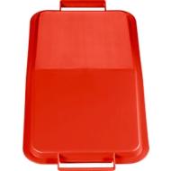 Deckel für Abfallbehälter 60 Liter, rot