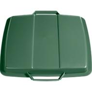 Deckel für Abfallbehälter 90 Liter, grün