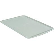 Deckel für Allzweckbehälter, 668 x 445 mm, grau