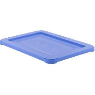 Deckel für Drehstapelbehälter Typ KS 18, blau