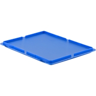 Deckel für Kasten im EURO-Maß MF 4120/4170/4220, blau