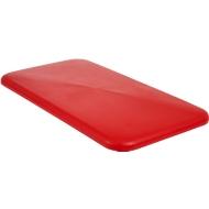 Deckel für Rechteckbehälter, Kunststoff, 450 l, rot